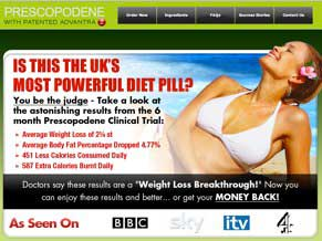 Prescopodene Uk website