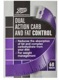 Boots Carb and Fat Control
