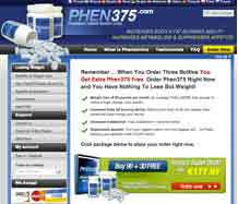 Phen375 website