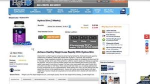 Hydrox Slim Website