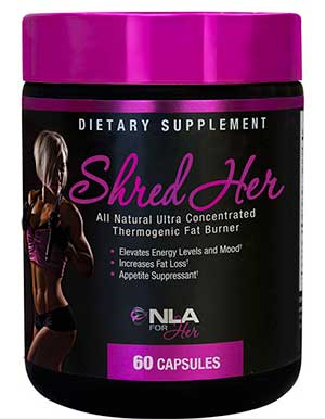 Shred Her Fat Burner Tub